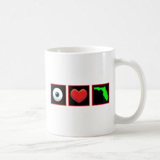 I LOVE FLORIDA COFFEE MUGS