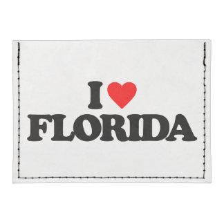 I LOVE FLORIDA TYVEK® CARD CASE WALLET