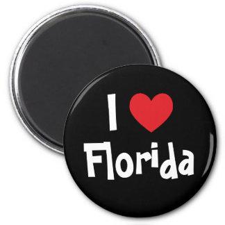 I Love Florida Refrigerator Magnet