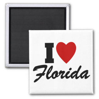 I Love Florida Magnet