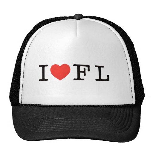 I LOVE FLORIDA MESH HAT