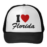 I Love Florida Mesh Hats