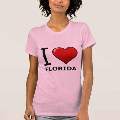 I LOVE FLORIDA SHIRT
