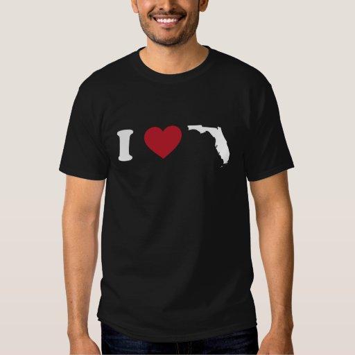 I Love Florida T-shirts