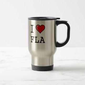 I Love Florida Travel Mug