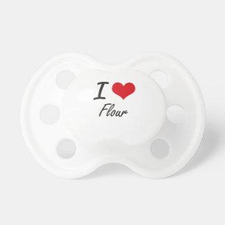 I love Flour Pacifier