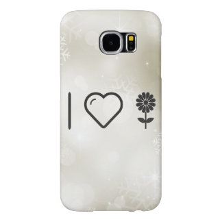 I Love Flower Blowers Samsung Galaxy S6 Cases