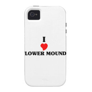 I love Flower Mound iPhone 4 Cover