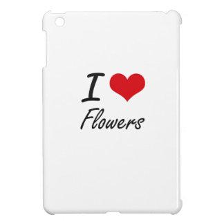 I love Flowers iPad Mini Cases