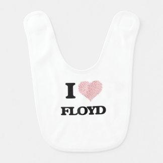 I Love Floyd Bib