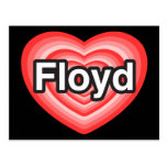 I love Floyd. I love you Floyd. Heart Postcards