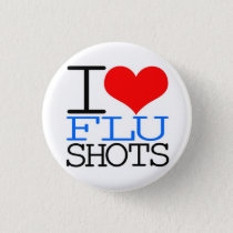 I Love Flu Shots Button