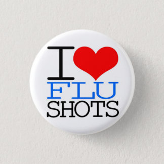 I Love Flu Shots Button