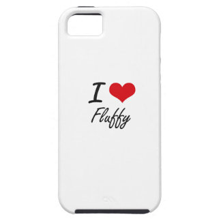 I love Fluffy iPhone 5 Covers