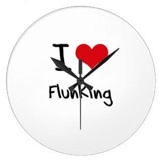 I Love Flunking Wallclock