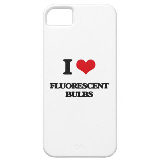 i LOVE fLUORESCENT bULBS iPhone 5 Covers