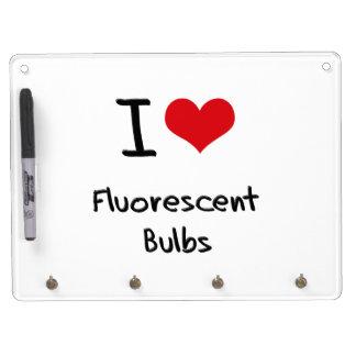 I Love Fluorescent Bulbs Dry-Erase Boards