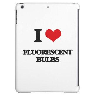 i LOVE fLUORESCENT bULBS iPad Air Covers