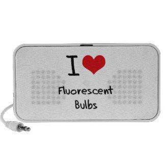 I Love Fluorescent Bulbs iPhone Speaker