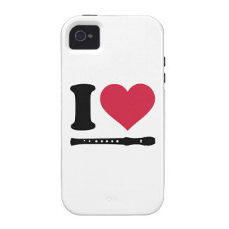 I love Flute iPhone 4 Covers