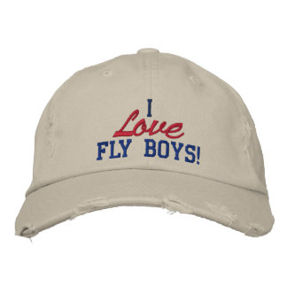 I Love Fly Boys! Air Force Hat