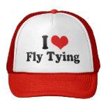 I Love Fly Tying Trucker Hats