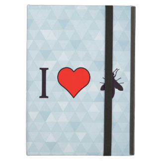 I Love Flying Bugs Cover For iPad Air