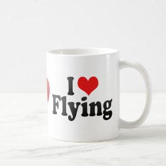 I Love Flying Coffee Mug