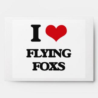 I love Flying Foxs Envelopes