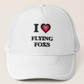 I Love Flying Foxs Trucker Hat