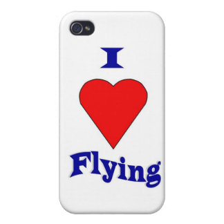 I love flying iPhone 4 case