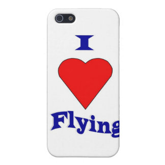 I love flying iPhone 5 case