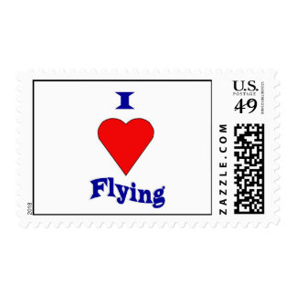 I love flying postage