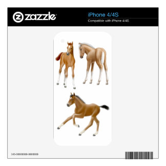 I Love Foals Zazzle Skin