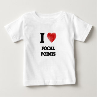 I love Focal Points Baby T-Shirt