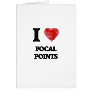 I love Focal Points Card