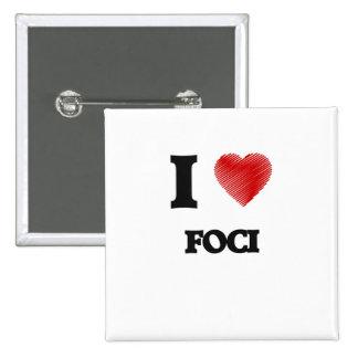I love Foci Button