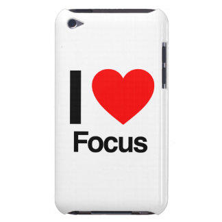i love focus barely there iPod case
