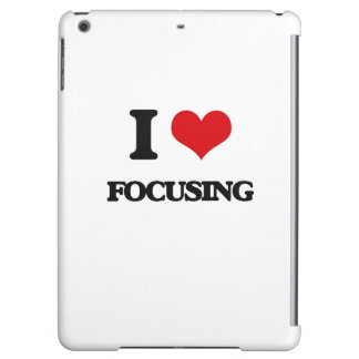 i LOVE fOCUSING iPad Air Case
