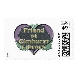 I love FOEL Postage Stamp