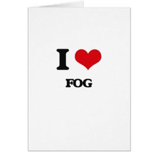 i LOVE fOG Greeting Card
