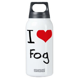 I Love Fog 10 Oz Insulated SIGG Thermos Water Bottle