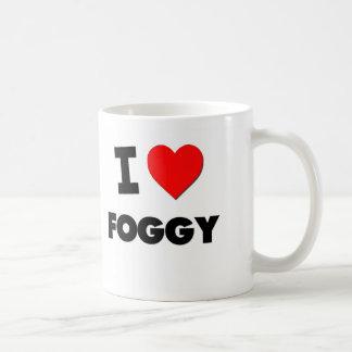 I Love Foggy Mugs