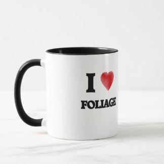 I love Foliage Mug