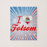I Love Folsom, California Jigsaw Puzzle