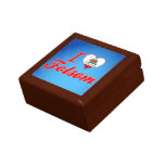 I Love Folsom, California Trinket Box