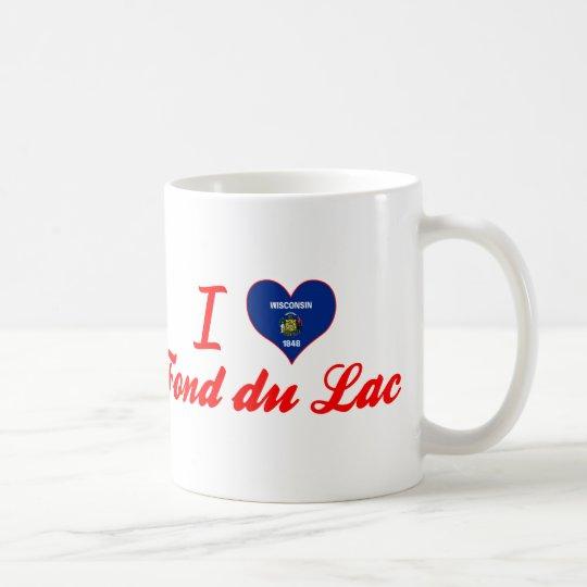 I Love Fond Du Lac, Wisconsin Coffee Mug