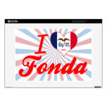 "I Love Fonda, Iowa 15"" Laptop Skins"