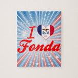 I Love Fonda, Iowa Puzzles