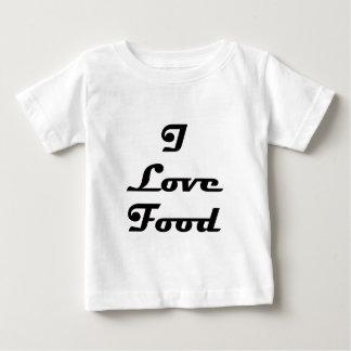 I Love Food Baby T-Shirt